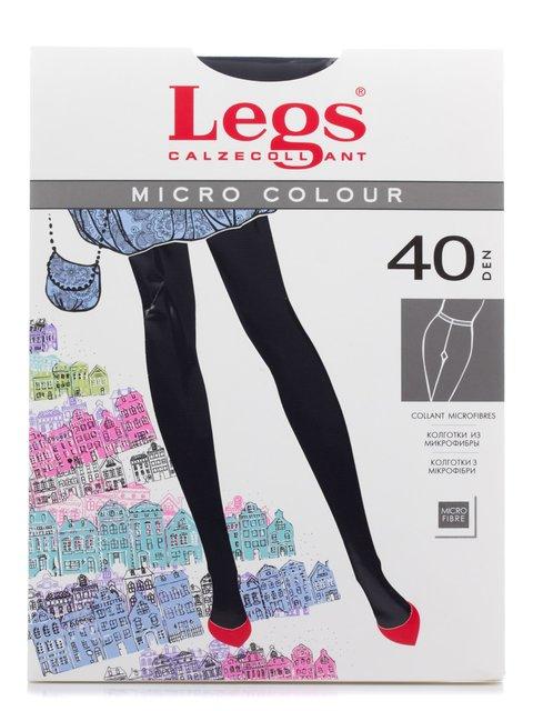 Колготки темно-сині 40 Den Legs 2108818