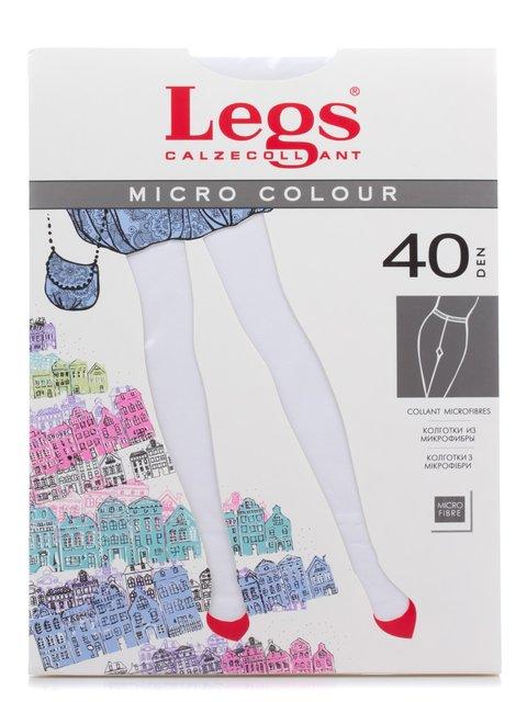 Колготки білі 40 Den Legs 2108812