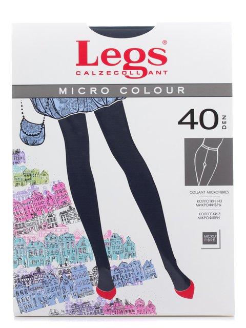 Колготки темно-сині 40 Den Legs 2108815