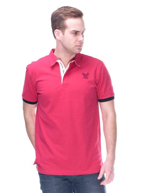 Футболка-поло рожева Aigle 2112213