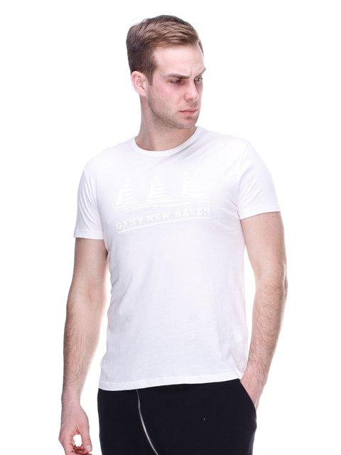 Футболка біла Gant 2112505