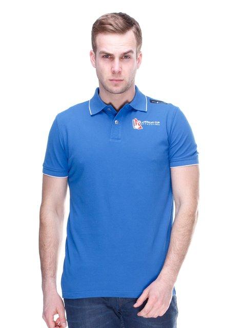 Футболка-поло синя Sail Racing 2112701