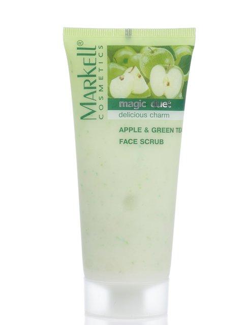 Скраб для лица «Яблоко зеленый чай» (95 г) Markell 2121360