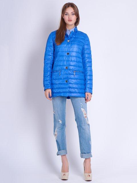 Куртка кольору електрик Mila Nova 2106987