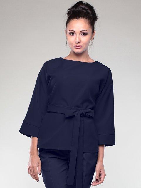 Блуза темно-синяя Dioni 2111009