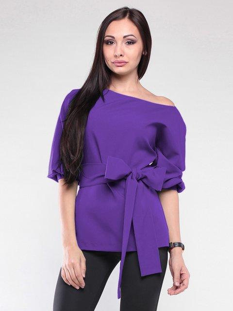 Блуза фиалкового цвета Laura Bettini 2126508