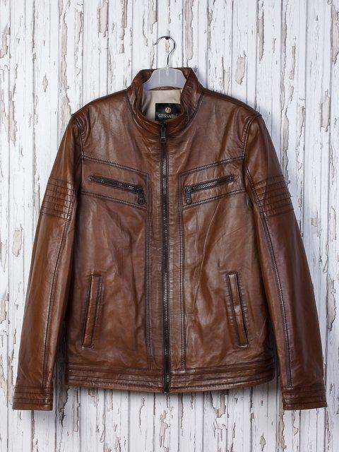Куртка коричневая Gessada 2128663