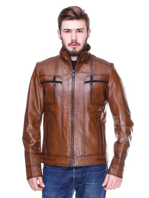 Куртка коричневая Gessada 2128664