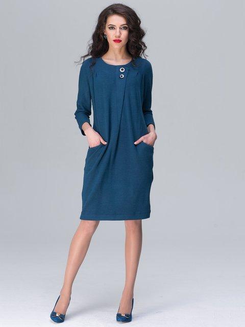 Сукня кольору морської хвилі Jet 2138035