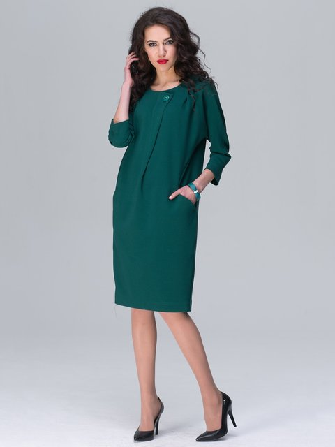 Платье зеленое Jet 2138040
