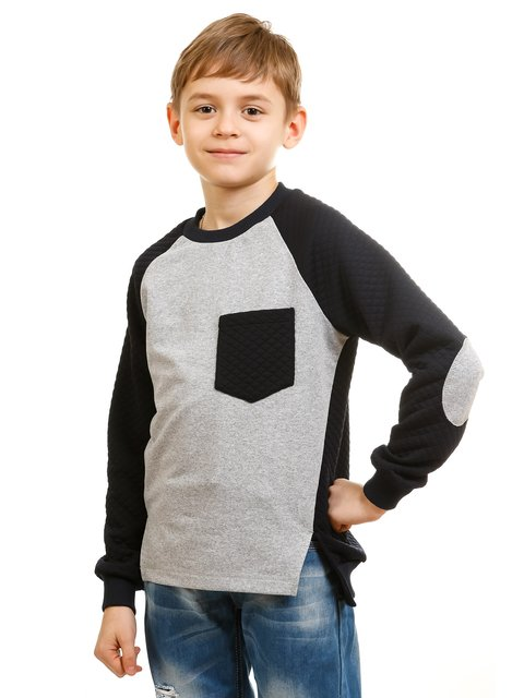 Джемпер серо-синий Kids Couture 2171386
