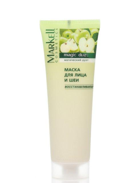 Маска для обличчя та шиї відновлювальна (115 г) Markell 2168618