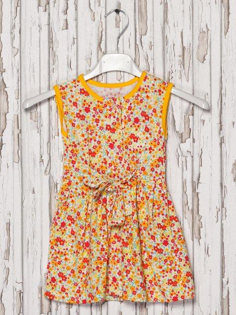 Платье-халат в цветочный принт Малыш 2174690