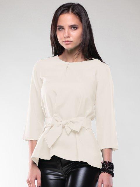 Блуза молочного кольору Rebecca Tatti 2170379