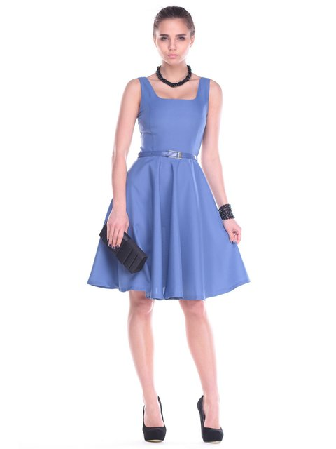 Платье синее Maurini 2195833
