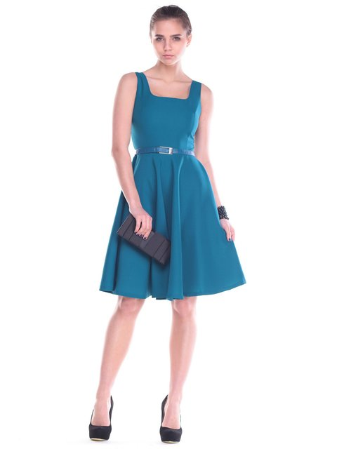 Сукня темно-бірюзова Maurini 2195836