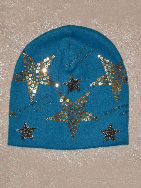 Шапка голубая Top Baby 2190501