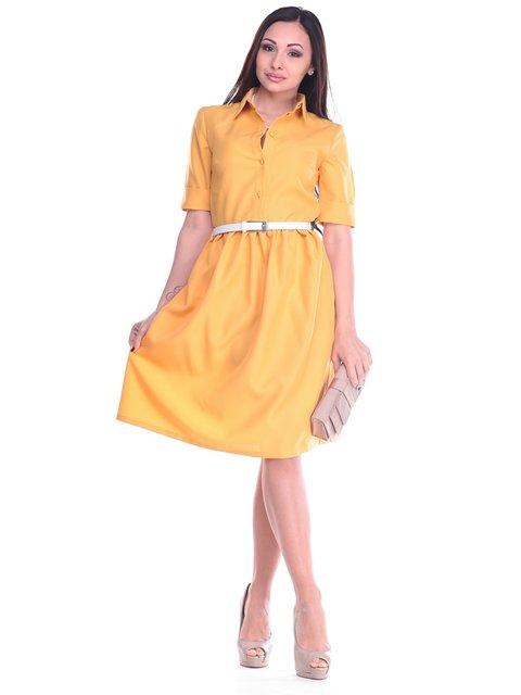 Сукня гірчичного кольору Dioni 2200351