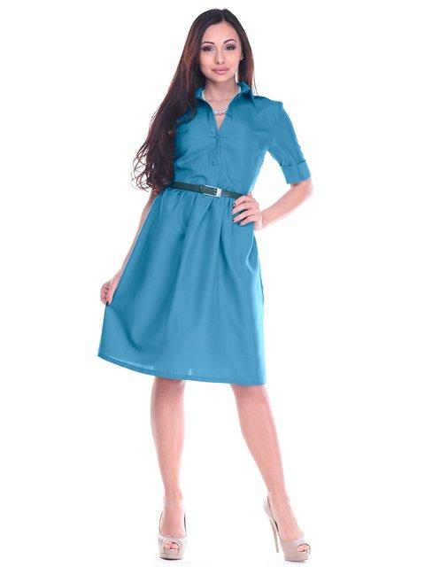 Платье темно-бирюзовое Dioni 2200352