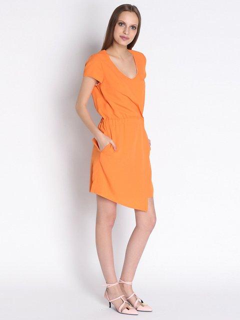 Платье оранжевое Patrizia Pepe 2204986