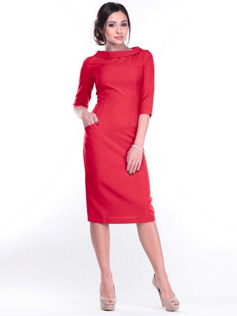 Платье красное Maurini 2212928