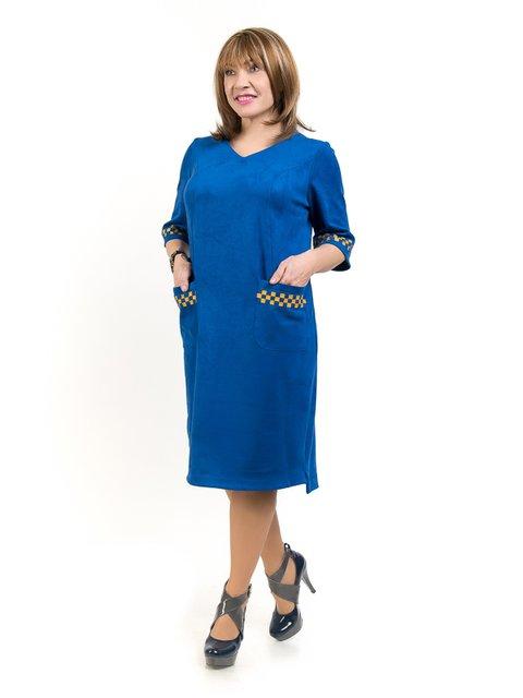 Сукня кольору електрик LibeAmore 2211831