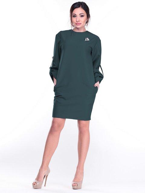 Платье темно-изумрудного цвета Dioni 2212334