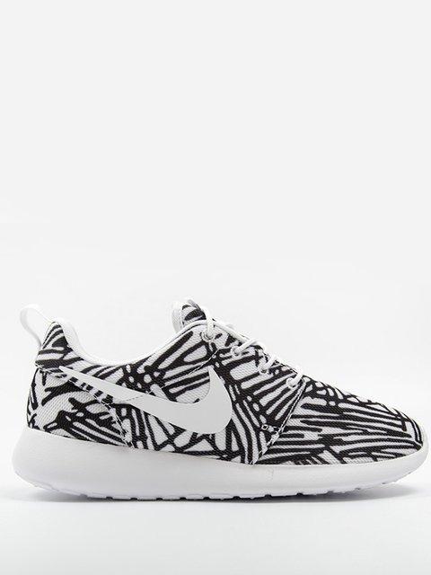 Кроссовки бело-черные Roshe One Nike 2231567