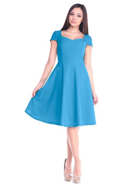 Сукня бірюзова Dioni 2235348