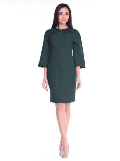 Платье темно-изумрудное Maurini 2235364