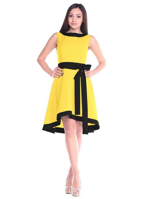 Сукня жовто-чорна Maurini 2235369