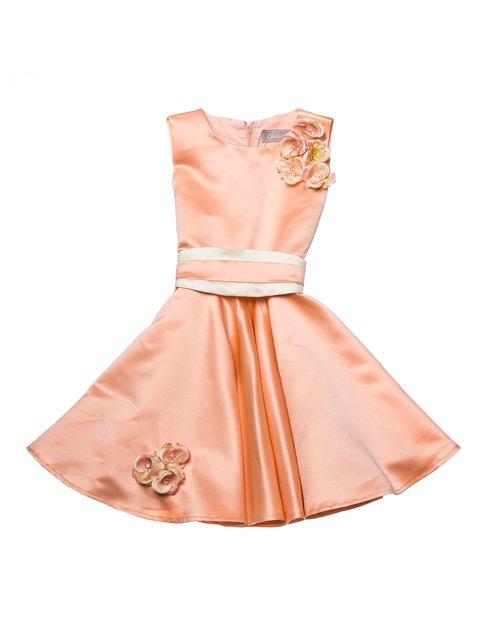 Платье персикового цвета Kids Couture 2171581