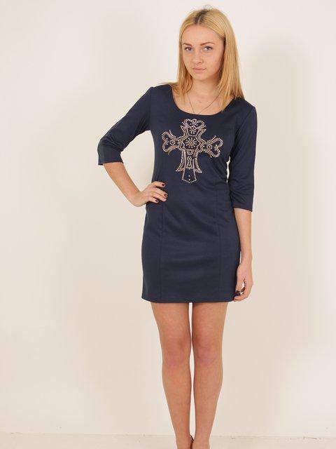 Платье темно-синее VSV 2278981