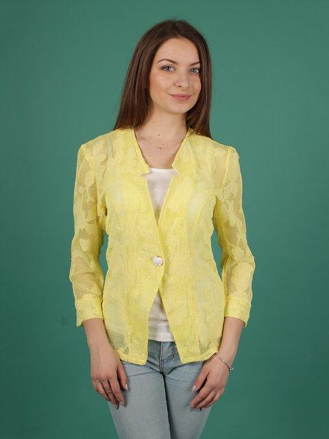 Жакет жовтий VSV 2279039