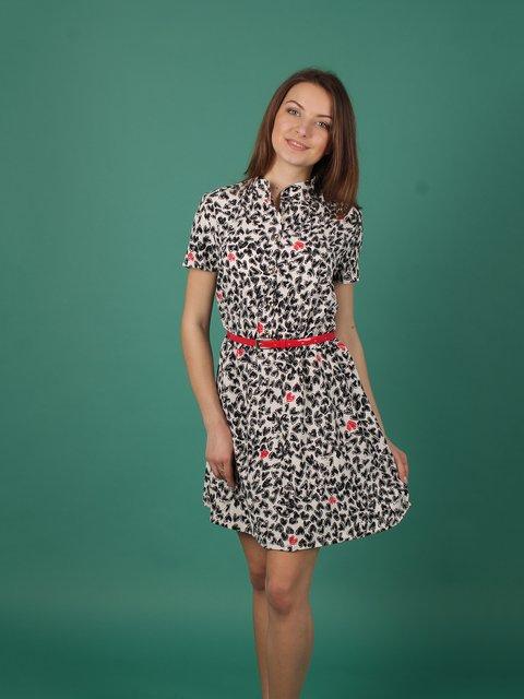 Платье в принт VSV 2279053
