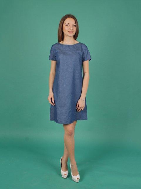 Платье синее VSV 2279100