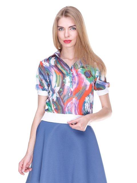 Блуза в принт MOONLIGHT 2273969