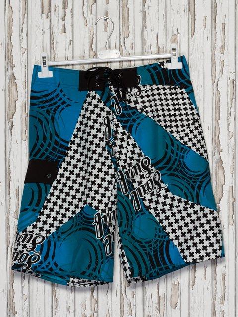 Шорты комбинированной расцветки купальные Gloria Jeans 2290036