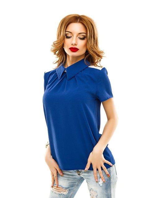 Блуза кольору електрик Elegance Creation 2305428