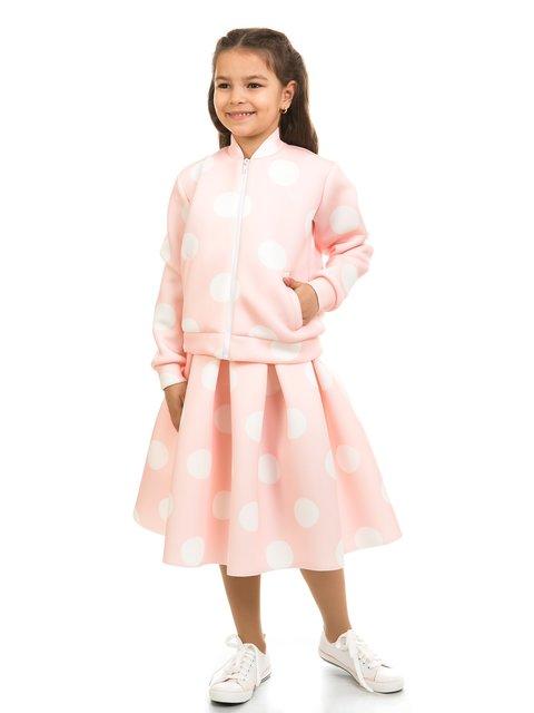 Кофта светло-розовая в горох Kids Couture 2319016