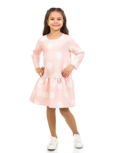 Платье розовое в горох Kids Couture 2318995