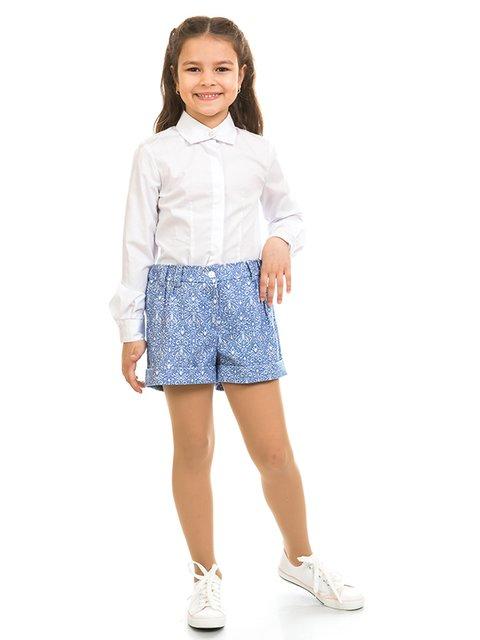 Шорти блакитні з принтом Kids Couture 2319000
