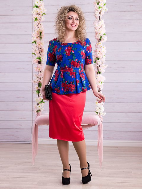 Костюм: блуза и юбка Seventeen 2345684