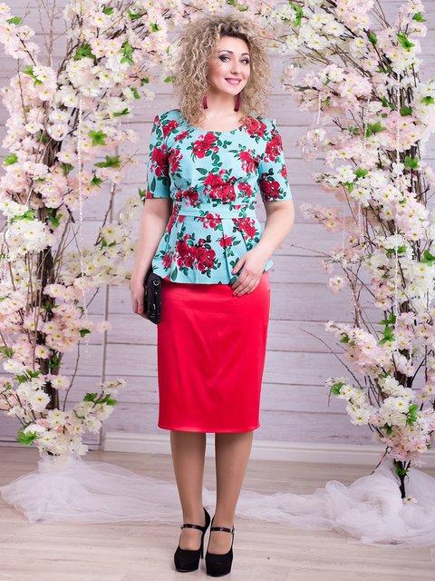 Костюм: блуза и юбка Seventeen 2345687