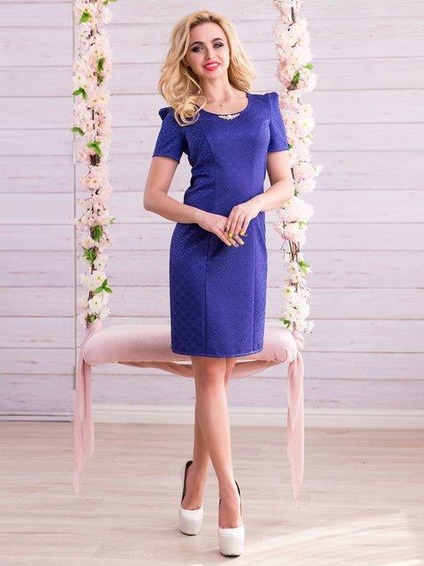 Сукня кольору електрик Seventeen 2345689