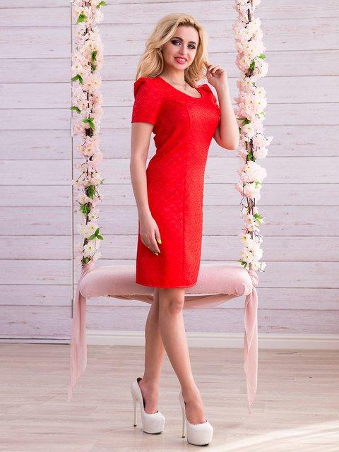 Платье красное Seventeen 2345692