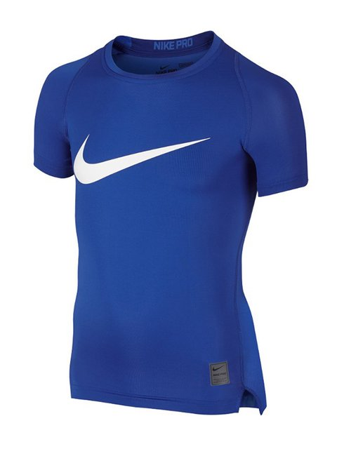Футболка синя з принтом Nike 2364587