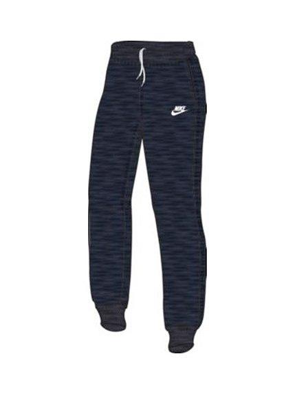 Штани сині з принтом Nike 2364591