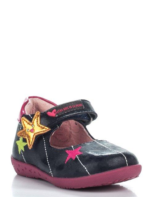 Туфли синие с декором Agatha Ruiz de la Prada 2361626