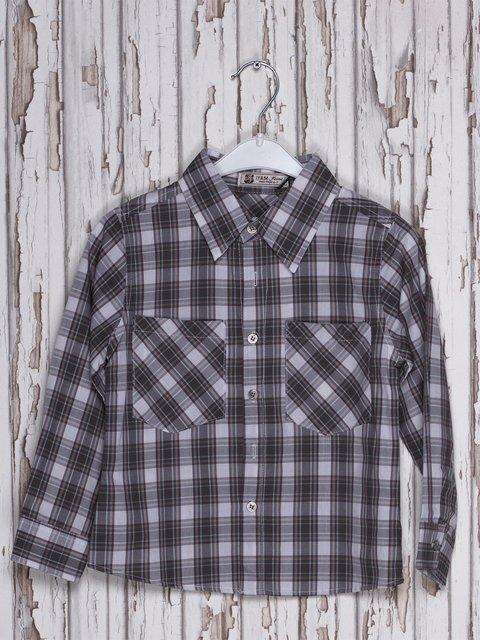 Рубашка клетчатая IYAM 597142